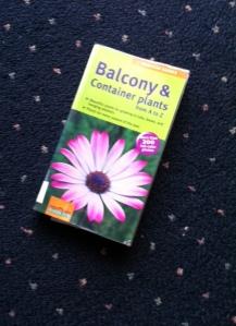 Balocony plant book photo