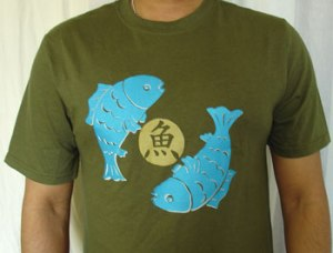 blue-fish-T-shirts
