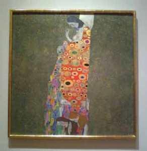 Gustav Klimt Hope,II