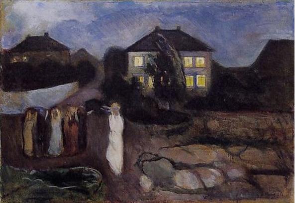 Munch-thestorm