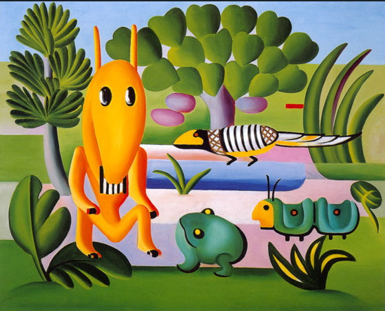 Tarsila do Amaral. A Cuca, 1924