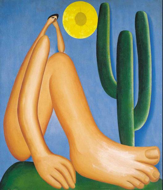 Tarsila do Amaral. Abaporu. 1928