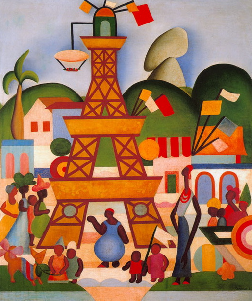 Tarsila do Amaral. Carnival in Madureira. 1924